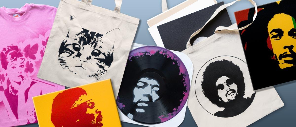 Permalink to: Leinwände, Shirts, Vinyl…
