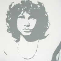 PopArt_JimMorrison_(Grey)_(canvas)_30x30