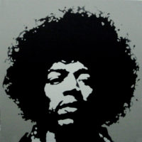 PopArt_JimiHendrix1_(Grey)_(canvas)_30x30