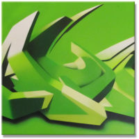Styles_'Maym'_3D_(1-1)_GreenToned_3x50x50_(2005)