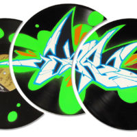 Styles_'Token'_NeonGreen-Splash_Black-Vinyl_Shop_(2012)