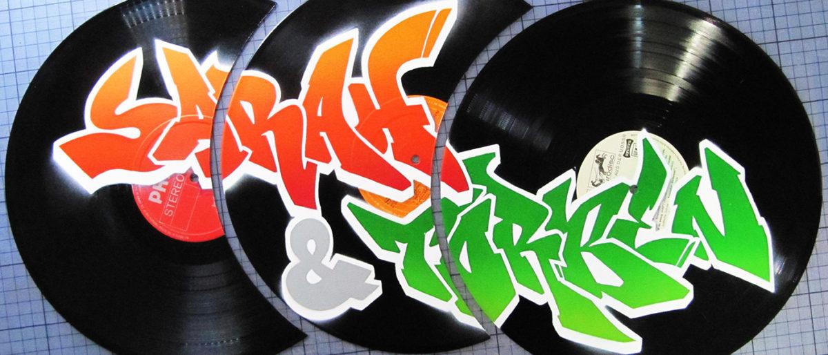 Permalink to: Namen auf Vinyl